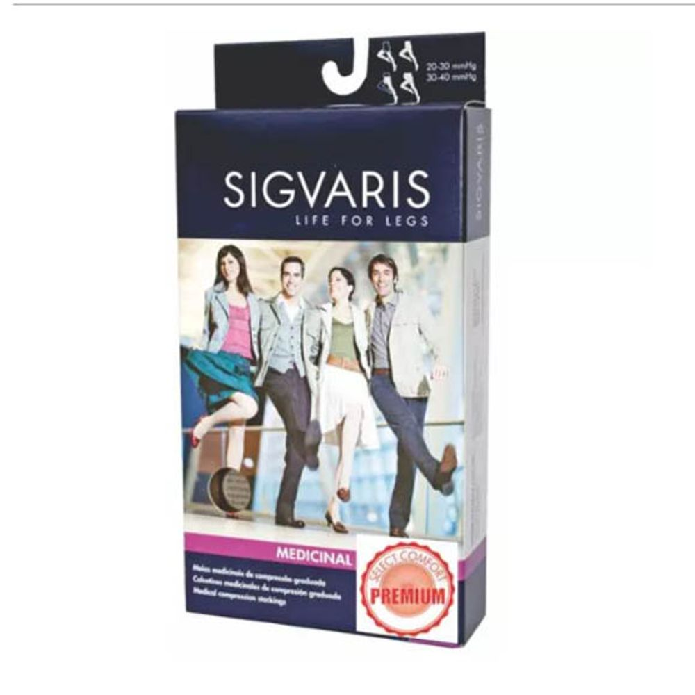 55c5f292e Meia Select Comfort Premium Sigvaris 862 AD - saudeeortopedia